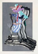 Roy LICHTENSTEIN (1923-1997) - Grandpa (Brushstroke Figures)