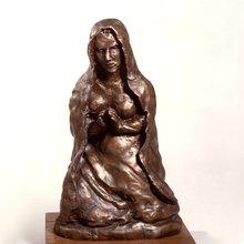 Antonio LIGABUE - Escultura - Madonna