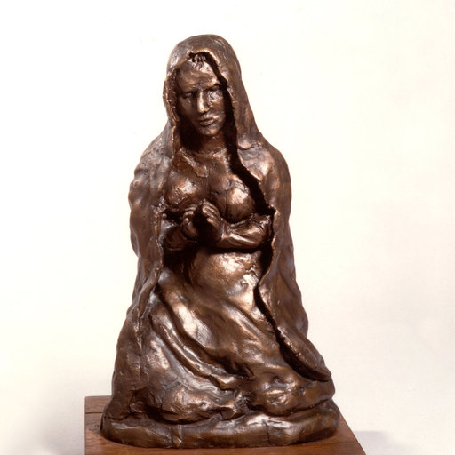 Antonio LIGABUE - Sculpture-Volume - Madonna