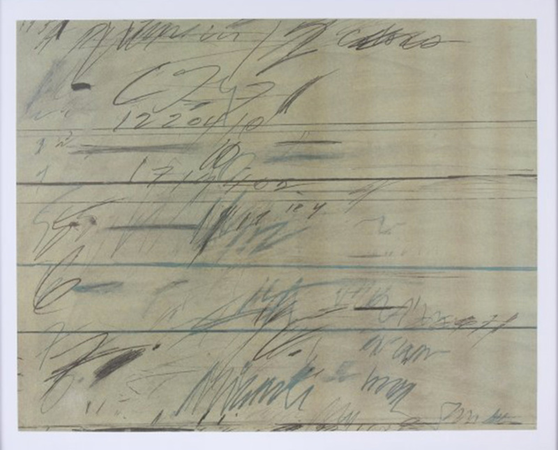 Cy TWOMBLY - Estampe-Multiple - Roman Notes
