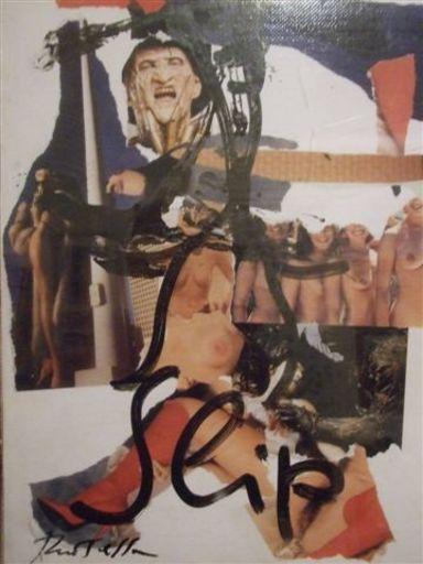 Mimmo ROTELLA - Peinture - slip