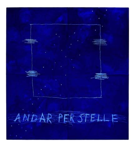 Cesare BERLINGERI - Peinture - Andar per stelle