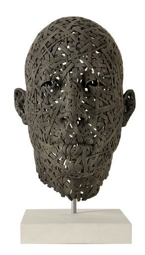 James MATHISON - Sculpture-Volume - Rostro Trama