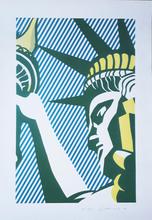 Roy LICHTENSTEIN - Estampe-Multiple - I love Liberty,