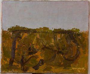 Ennio MORLOTTI - Peinture - Rocce