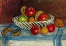 Charles CAMOIN - Pintura - Corbeille de fruits