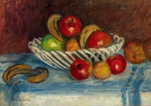Charles CAMOIN - Painting - Corbeille de fruits