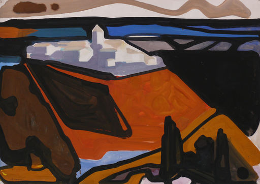 Horst DE MARÉES - Painting - Verdun de Lauragais