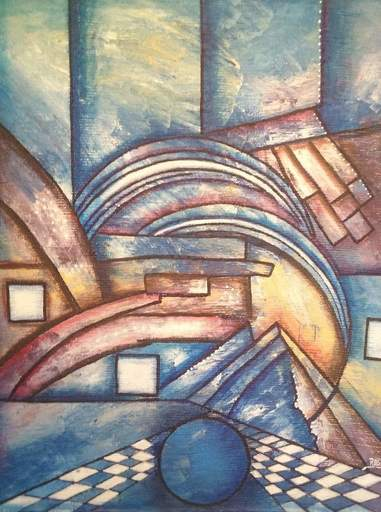ROGA - Painting - Composition