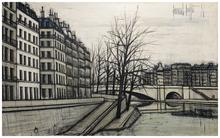 Bernard BUFFET (1928-1999) - Quai de la Tournelle