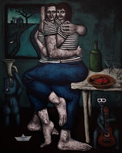 Nicolas MONJO - Pintura - Avant que tout ne s'effondre