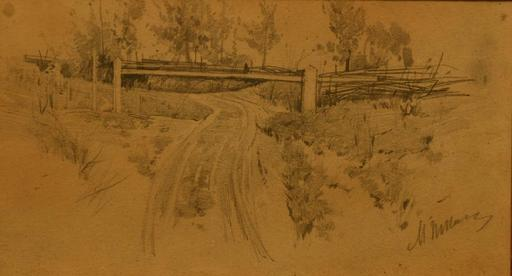 Michaïl TKATCHENKO - Drawing-Watercolor - landscape
