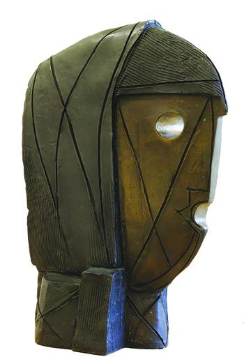 Himmat SHAH - Escultura - Head