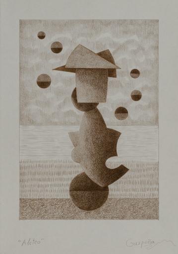 Enrique Rodriguez GUZPENA - Drawing-Watercolor - Aleteo