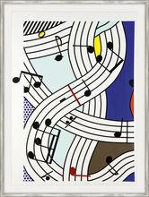 Roy LICHTENSTEIN - Estampe-Multiple - Composition I