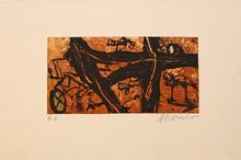 Emil SCHUMACHER - Print-Multiple - 8/1995