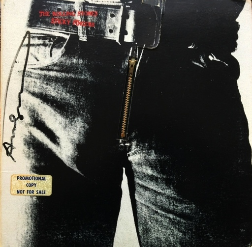 Andy WARHOL - Stampa Multiplo - Rolling Stones - Sticky Fingers - US Edition