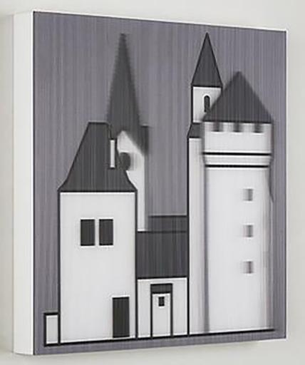 Julian OPIE - Print-Multiple - Medieval Village 2