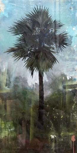 Peter HOFFER - Peinture - Palm Tree
