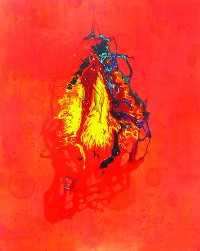 Marie-Pierre AUTONNE - Peinture - L'Ombre Éperdue du Bonheur