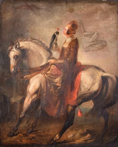 Alfred DE DREUX - Gemälde - Sin titulo