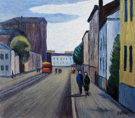 Valeriy NESTEROV - Painting - Taganka. Moscow