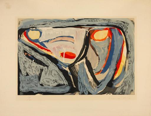 Abraham Gerardus VAN VELDE - Druckgrafik-Multiple - Composition, 1962