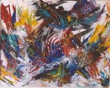 Didier ANGELS - Pittura - éclosion printanière n*04