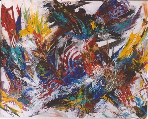 Didier ANGELS - Peinture - éclosion printanière n*04