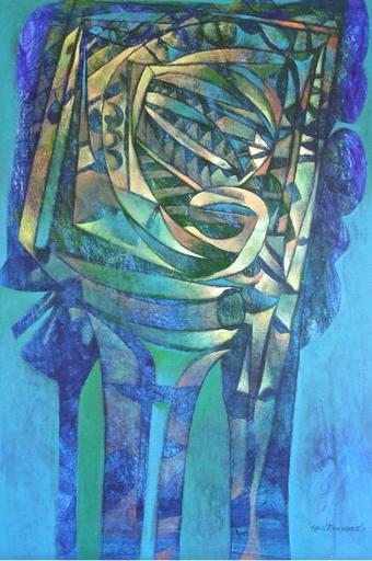 Raul ENMANUEL - Pintura - El descanso en el tropico