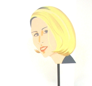 Alex KATZ - Sculpture-Volume - Jessica