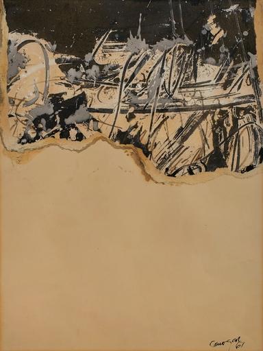 Rafael CANOGAR - Disegno Acquarello - Untitled
