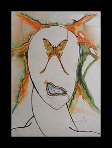 Salvador DALI - Estampe-Multiple - Kabuki Dancer