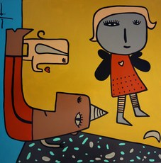 Milo LOCKETT - Peinture - NO TITLE
