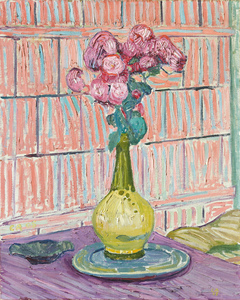 Cuno AMIET - Painting - Rote Rosen