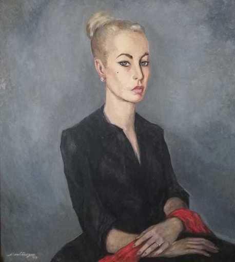 Roberto MONTENEGRO - Pintura - Retrato