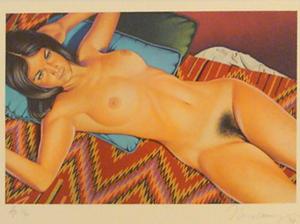 Mel RAMOS - Druckgrafik-Multiple - You Get More Salami with Modigliani