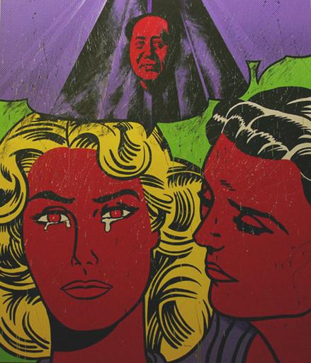 WANG Ziwei - Painting - TWO WOMEN