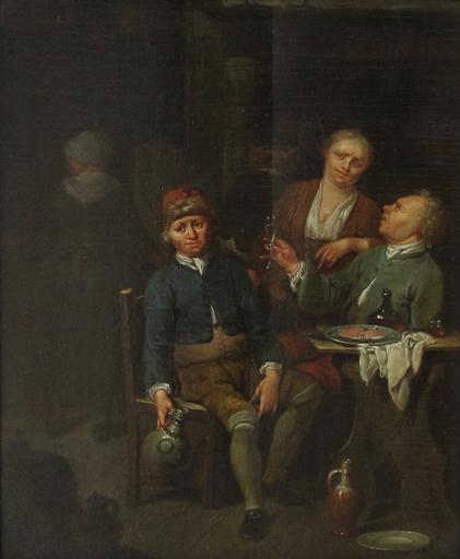 Jan Baptist LAMBRECHTS - Gemälde - Interior scenes
