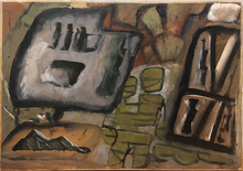 Mario SIRONI - Pintura - Composizione