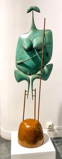 Philippe HIQUILY - Sculpture-Volume - La grande échassière