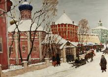 Vladimir Nicolaevich ARALOV - Pintura - Winter in Zagorsk
