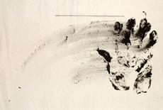 Antoni TAPIES - Drawing-Watercolor - Projecte núm. 4