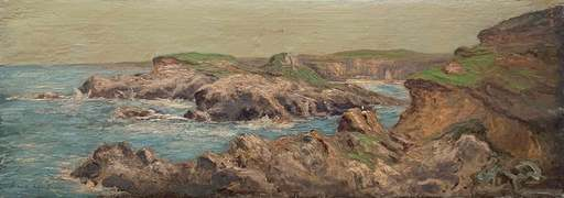 Maxime MAUFRA - Pintura - Bretagne coast
