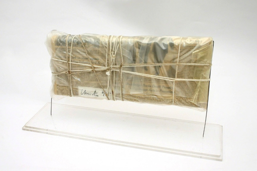 CHRISTO - Sculpture-Volume - Wrapped New York Times, 13.Juni