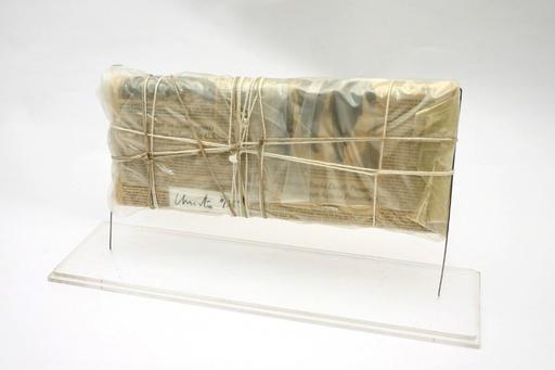 CHRISTO - Sculpture-Volume - Wrapped New York Times, 13.Juni