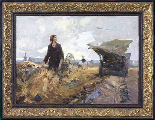 Yuri Vladimir Nikolaevich ANOKHIN - Painting - In the Field