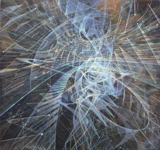 Pancho QUILICI - Peinture - Trajectoires Intuitives