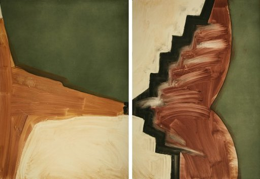 Alison WILDING - Print-Multiple - Dogs (diptych)