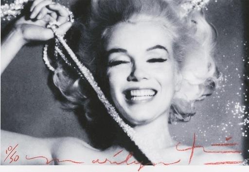Bert STERN - Fotografia - New Smiling with pearls